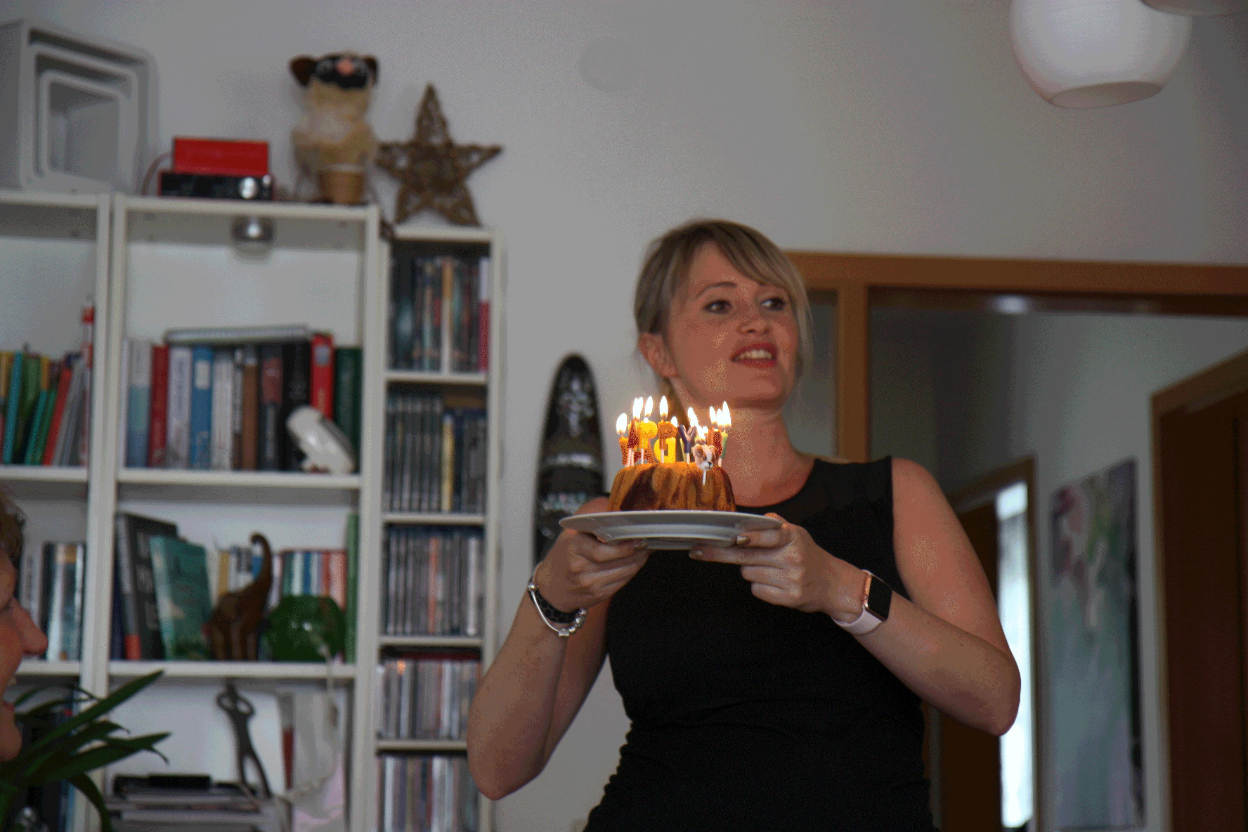 Sängerin zum Geburtstag